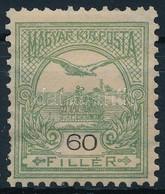 * 1900 Turul 60f Számvízjellel (12.000++) (foghibák) - Stamps