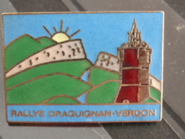 PIN'S RALLYE DRAGUIGNAN-VERDON - Rallye