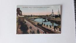 NANTES  (44)  Vue Sur La Loire Et La Gare D'Orléans Prise Du Château - Nantes