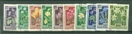 Autriche  Yvert  722/731  Ou   Michel  868/877   Ob  TB - 1945-.... 2nd Republic