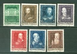Autriche  Yvert  732/738  Ou   Michel  878/884   Ob  TB - 1945-.... 2nd Republic