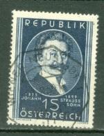 Autriche  Yvert  769  Ou   Michel  934   Ob  TB - 1945-.... 2nd Republic