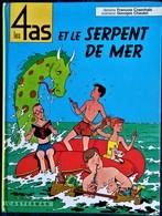 François Craenhals - Georges Chaulet - Les 4 As Et Le Serpent De Mer - Casterman - ( 1980 ) . - 4 As, Les