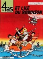 Les 4 As  N° 9 - Les 4 As Et L'île Du Robinson - Casterman - ( 1970 ) - 4 As, Les