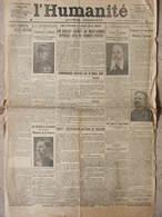 L'Humanité - (17 Mars 1916) Démission Galliéni - De Von Tirpitz - Attaques Meuse - Général Roques Ministre - Journaux - Quotidiens
