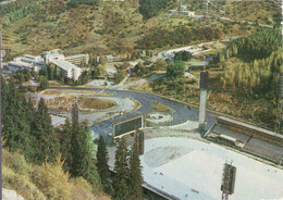 Kazakhstan, Almaty, Eisbahn Medeo, каток медео, Gebraucht 1982 - Kasachstan