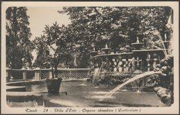 Organo Idraulico, Villa D'Este, Tivoli, Lazio, C.1930 - Traldi Foto Cartolina - Tivoli