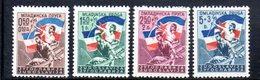 YUG62B - YUGOSLAVIA 1946,  Unificato N. 449/452  Nuovi  * - 1945-1992 Repubblica Socialista Federale Di Jugoslavia