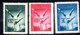 YUG64A - YUGOSLAVIA 1947,  Unificato N. 466/468  Nuovi  *** - 1945-1992 Repubblica Socialista Federale Di Jugoslavia