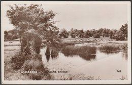 Julians Bridge, Wimborne, Dorset, 1961 - Dearden & Wade RP Postcard - England