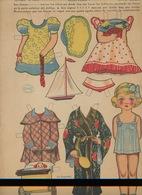MARI-TERE Ediciones La Tijera Série N°10 N°239 Poupée Costumes Landau Bateau éventail Corde à Sauter Kimono - Enfants