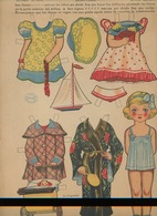 MARI-TERE Ediciones La Tijera Série N°10 N°239 Poupée Costumes Landau Bateau éventail Corde à Sauter Kimono - Kinderen
