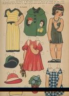 MARI-TERE Ediciones La Tijera Série N°10 N°236 Poupée Costumes Bijoux Fleurs Nounours Cadeaux Chapeaux - Children
