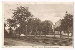 CP Europe - Allemagne - Rhénanie-Palatinat  Neuwied 1947 Anlagen Engerser-Chaussee- Luisenstrasse - Neuwied
