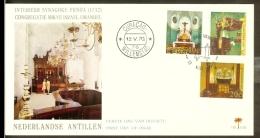 1970 - Netherlands Antilles FDC E60 - Churches And Synagogue [OG081_3] - Curaçao, Antilles Neérlandaises, Aruba