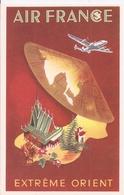 CPSM - Air France - Extrème Orient - Création Perceval - Paris - Advertising
