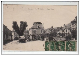 CORREZE : CUBLAC : Grand'place - Très Bon état - France