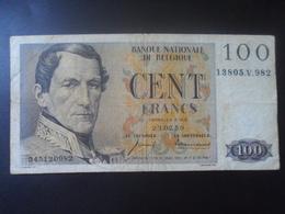 Belgique :  100 Francs 1959 - Other