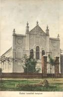 T2 1916 Écska, Ecka; Izraelita Templom, Zsinagóga / Synagogue - Postcards