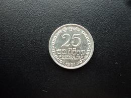 SRI LANKA : 25 CENTS   1991   KM 141.2     SUP+ - Sri Lanka