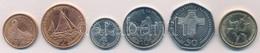 Man-sziget 2001. 1p-1? (6xklf) T:1- Isle Of Man 2001. 1 Penny - 1 Pound (6xdiff) C:AU - Coins & Banknotes