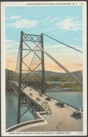 Bear Mountain Hudson River Bridge, New York, C.1920s - Ruben Postcard - Other