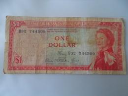 Caribbean : One Dollar - Banknotes
