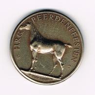 &  TORHOUT N° C193a  H.R.G. PEERDENFEESTEN 1982 - 100  HOUTLANDERS  3.000 EX. PROEFSLAG - Tokens Of Communes