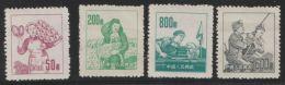 China 1953  Mi.nr. 202+203+205+206 Mint - Nuevos