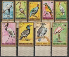 Burundi  1965  Mi.nr. 158-166    Birds Vogels   Used - 1962-69: Used