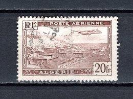 ALGERIE PA N° 4  OBLITERE  COTE  0.20€  AVION - Algeria (1924-1962)