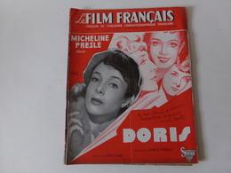 """Revue """" Le Film Français """" N° 182 Juin 1948 """" Micheline Presle Dans Doris """" - Magazines"""