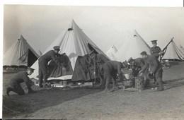 Première Guerre Mondiale - Camp Militaire Anglais D'ETAPLES SUR MER ( 62) - Cliché Achille Caron - Guerre, Militaire
