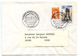 France 1979 Philatelic Cover Vence To Nice, 7th  Regional Philatelic Congress - Commemorative Postmarks