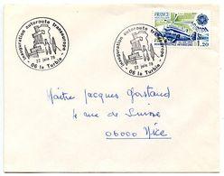 France 1979 Philatelic Cover La Turbie, Inauguration Of Transeuropean Autoroute - Postmark Collection (Covers)