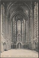 Le Reliquaire, Intérieur De La Sainte-Chapelle, Paris, C.1905-10 - Neurdein CPA - District 01