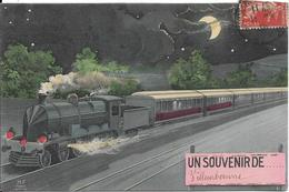 SOUVENIR DE VILLEURBANNE.TRAIN - Villeurbanne