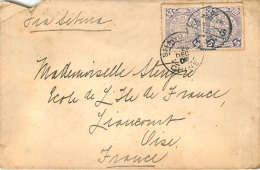 ENVELOPPE CHINE 1910  SHANGHAI - Covers & Documents