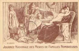 ILLUSTRATEUR NOLHAC JOURNEE NATIONALE DES MERES DE FAMILLES NOMBREUSES - Illustrateurs & Photographes