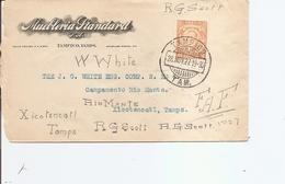 Mexique ( Lettre De 1927 De Tampico  Vers Xicotencatl à Voir) - Mexico