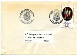 France 1989 Philatelic Cover Saint Jean Cap Ferrat, XVII Regional Philatelic Congress - Postmark Collection (Covers)