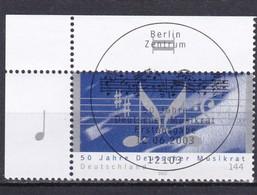 BRD, Nr. 2346 Im Eckrand Mit SST (T 7180c ) - [7] República Federal