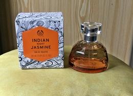 """Flacon Eau De Toilette Spray """"INDIAN NIGHT JASMINE"""" De  THE BODY SHOP Avec Sa Boite NEUF - Parfums"""
