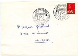 France 1972 Philatelic Cover Nice, International Tourism Fair - Commemorative Postmarks
