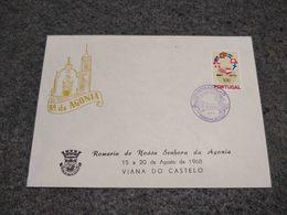 """PORTUGAL COMMEMORATIVE FDC COVER  """" ROMARIA DA AGONIA"""" 1968 - FDC"""