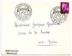 France 1968 Philatelic Cover Nice, International Tourism Fair - Postmark Collection (Covers)