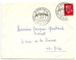 France 1969 Philatelic Cover Nice, International Tourism Fair - Commemorative Postmarks