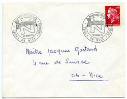 France 1970 Philatelic Cover Nice, International Tourism Fair - Postmark Collection (Covers)