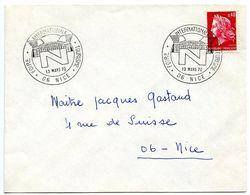 France 1970 Philatelic Cover Nice, International Tourism Fair - Commemorative Postmarks