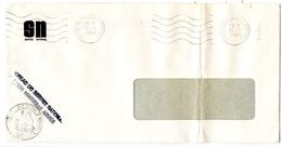 France 1981 Military Cover Marseille Armee - Bureau Du Service National - Postmark Collection (Covers)